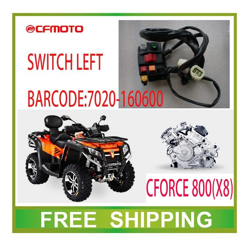 LEFT MULTI-FUNCTION SWITCH cf moto ATV UTV CF800-2 X8 800CC accessories free shipping стартер для мотоциклов atv huansong 800cc atv utv