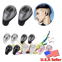 TWS11 Mini Twins Bluetooth Earphone True Wireless Earbuds Double Two Stereo In Ear Earset With MIC