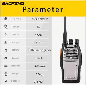 Image 2 - Baofeng Radio bidireccional A5 100%, 5W, 16 canales, vídeo, Walkie Talkie, BF A5, FM, Transerivern, Woki, Toki