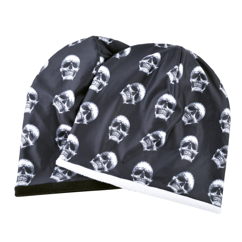 TQMSMY Fashion Skull Pattern Hats For Men Winter Warm Skullies Beanies Women Thick Ski Caps Unisex Hip Hop Punk Cool Bone Gorros 5