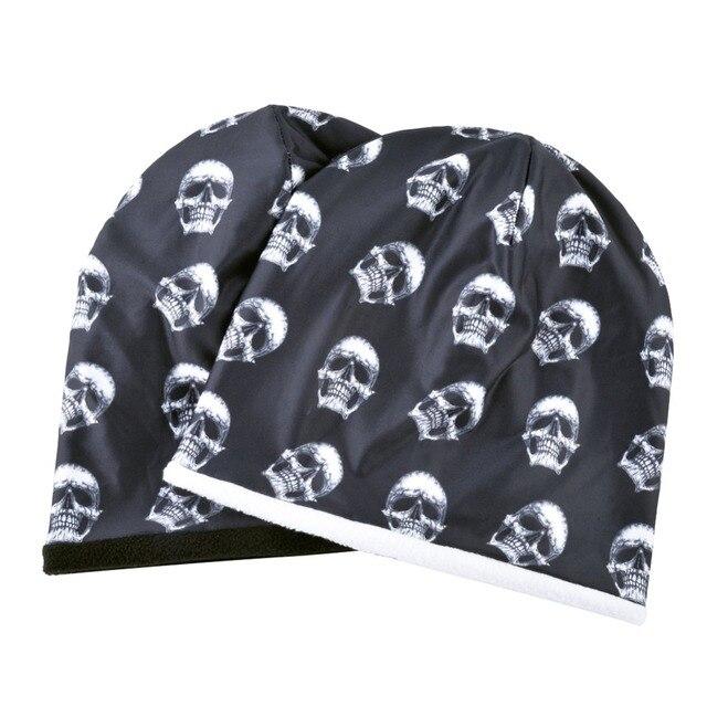 Skull Pattern Beanie 10