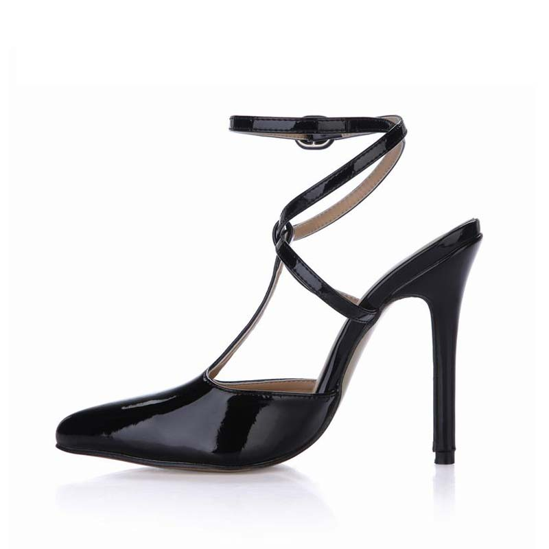 Sexy High Heels Shoes Woman Pointed Toe Buckle Zapatos Mujer Sapato Tenis Feminino Ladies Party Dress Work Shoes Women Sandals plus size sexy high heels women pumps pointed toe woman ladies party valentine dress wedding shoes tenis feminino zapatos mujer