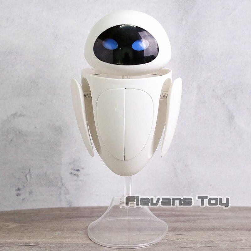 Mur E transformant EVE 6 yeux Expressions Eve PVC figurine à collectionner modèle enfants jouet cadeau d'anniversaire