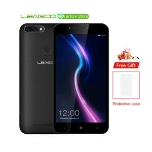 "Image 1 - LEAGOO POWER 2 PRO téléphone 5.2 ""HD Android 8.1 MTK6739 Quad Core 2GB RAM 16GB ROM 4000mAh double SIM empreinte digitale 4G LTE SmartPhone"