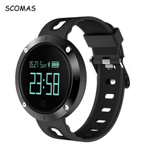 SCOMAS DM58 Sports Wrist Watch Activity Fitness Tracker Blood Pressure Monitor Heart Rate Alarm Clock Smart Watches Wristband