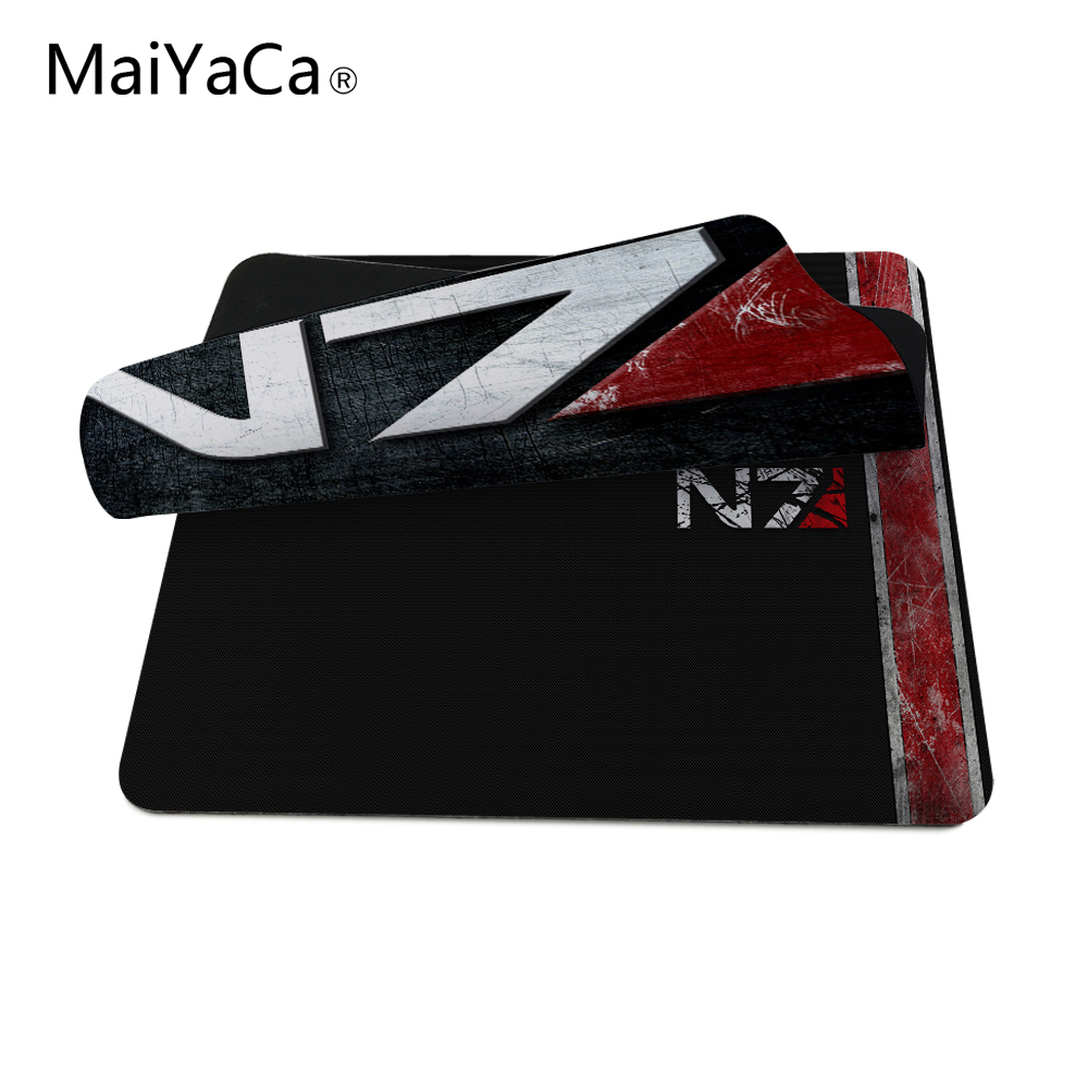 MaiYaCa Custom High Speed Nuevo Mass Effect N7 Logo del juego - Periféricos de la computadora - foto 5