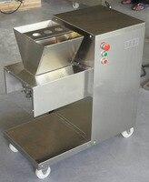 전기 고기 슬라이서 qw 고기 절단 기계 110/220/380 v 고기 커터 800 키로그램/시간 고기 가공 기계