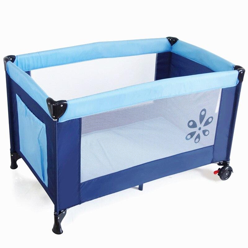 2016 eco friendly multifunctional folding baby crib infant