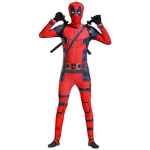 Adult Deadpool Costume Cosplay Costumes Men Halloween Carnival For Party Suit