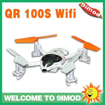ФОТО New Function!Support IOS/Android Systerm!Walkera New UFO QR W100S  2.4Ghz Wifi RC Mini  Quadcopter with Camera Drone