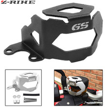 F800 GS Motorcycle Aluminum Rear Brake Fluid Reservoir Guard Cover Protect For BMW F 700GS F700GS F800GS 2013-2018