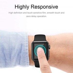 Image 5 - 10 PCS 3D Gebogen Volledige Dekking Gehard Glas Voor Apple Horloge Serie 1/2/3 42mm Screen protector iWatch Beschermende Film