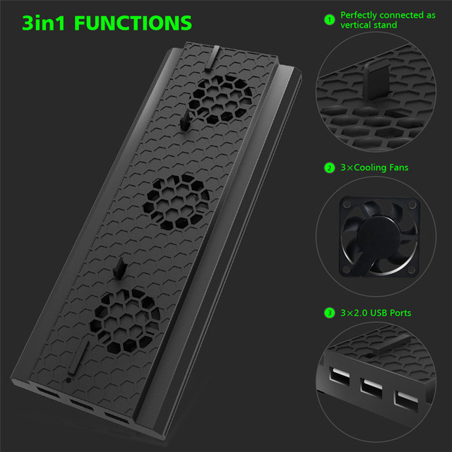 OIVO Cooling Stand Holder for Xbox One X