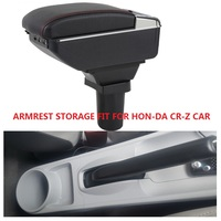 CITYCARAUTO BIGGEST SPACE+LUXURY+USB Car armrest box central Storage content box USB LED FIT FOR HONDA CR Z CRZ kia picanto CAR