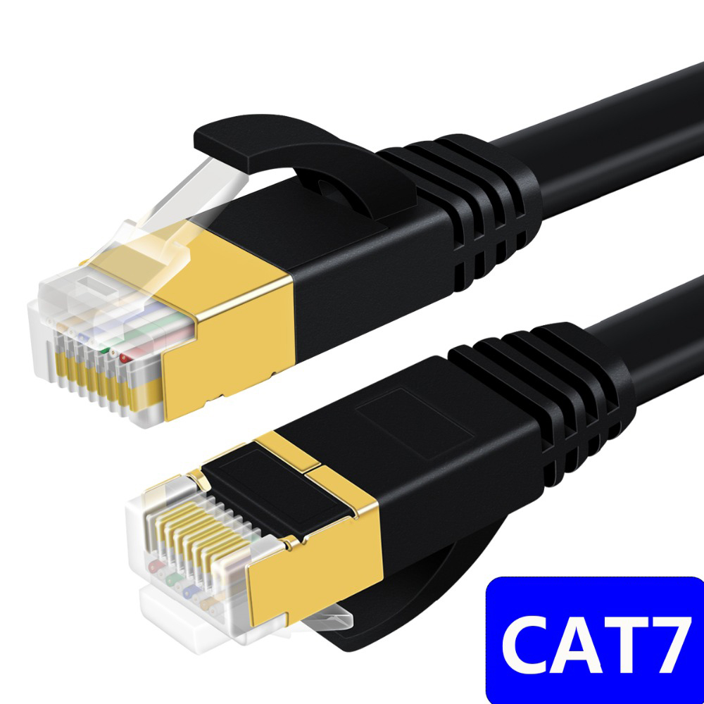 CAT7 Lan Cable RJ45 Cat 7 Cable Rj 45 Ethernet Network Cable Short Patch Cord 30cm 10m 15m 20m For Laptop Router XBox PC Cable