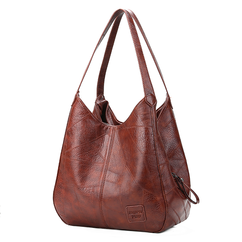 Womens Handbag Designers Luxury Soft Pu Leather Handbag Female Vintage Sac A Main Handbags