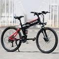 Электрический велосипед горный велосипед дорожный фэт-байки 36 В 350 Вт 21 скорость 8 Ач е велосипед самокат алюминиевый сплав Бесплатная доста...