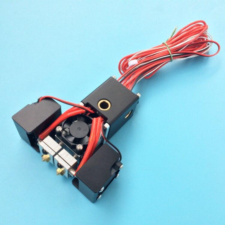 Ultimaker 2+3D printer Chimera hotend kit dual extruder 2 inlet 2 ...