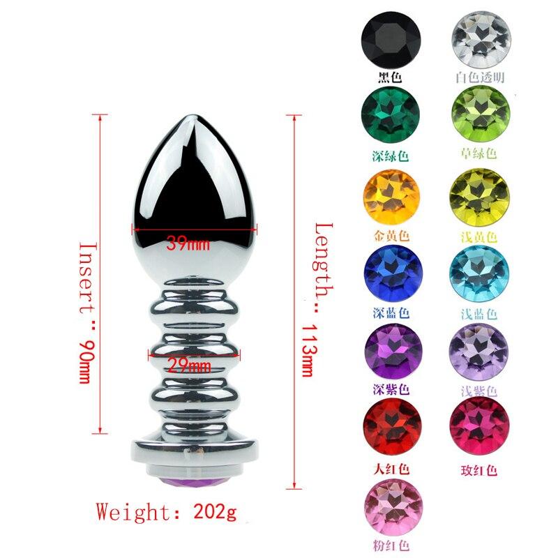 imágenes para Maxde Metal Plateado Crysta Spirall Enchufe Multifuncional Colorido Joyería de Enchufe para Hombres y Mujeres de la Autodefensa de Emergencia Escapar