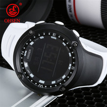 OHSEN Men Women Fashion Casual Digital Sports Watches 50M Waterproof Digital Men's Stopwatch Alarm Outdoor Sport Wristwatches(China)