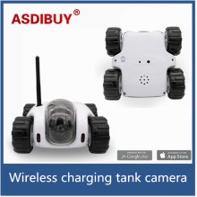 New 1.3MP resolution WiFi Car tank Remote Robot Camera Car Remote Control home security camera kids toy spy  wifi