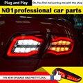 One-Stop Shopping Styling para 6 Luzes Da Cauda 2004-2013 Mazda6 Clássico LEVOU Cauda Lâmpada Traseira Luz DRL + freio + Parque + Sinal