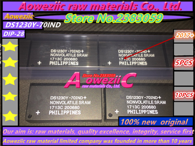 Aoweziic  100% new  original  DS1230Y-70IND  DS1230Y   DIP-28  Clock chip memory 256K aoweziic 100% new original mosfet hy4008 hy4008w 80v 200a to 3p inverter ultra chip