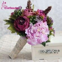 Buque de noiva Bouquets For Brides Brooch Bridal Bouquets Wedding Outside Wedding Artificial Wedding Flowers