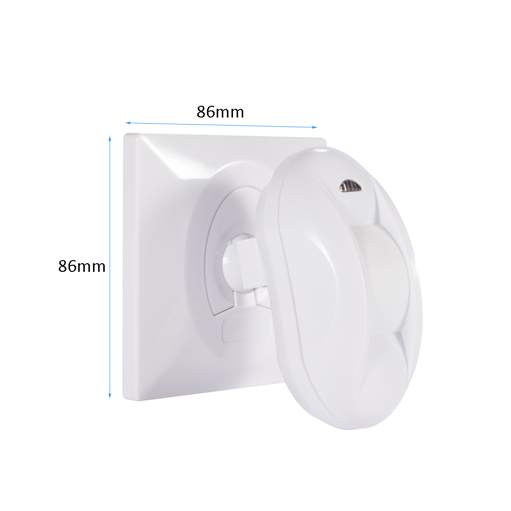 New 86mm holder wired Infrared detector Curtain PIR Motion sensor 15 degree NC NO relay output options for home security systemNew 86mm holder wired Infrared detector Curtain PIR Motion sensor 15 degree NC NO relay output options for home security system