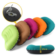 Outdoor TPU travel inflatable pillow Sleeping Pad Camping Folding Beach Tent Picnic
