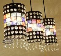 בוהמי נברשת אור מנורת שולחן אור בר רטרו דרום מזרח אסיה 3 מסעדה אישית רטרו אורות מדרגות LU726240-באורות תלויים מתוך פנסים ותאורה באתר