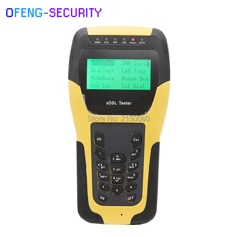 ST332B VDSL2 Tester Multi-functional Hand-held VDSL2 Test Instrument For XDSL Line Test