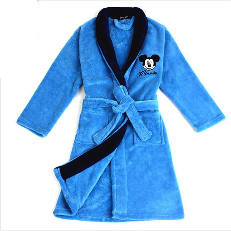 4 16Y Fleece robes kids character kids bathrobes boys girls robes ...