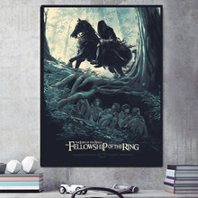 Lord Of The Rings Ghost Wallpaper Canvas Painting Prints Bedroom Home Decoration Modern Wall HD Art Oil Posters Artwork