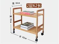 Два Слои Bamboo деревянные полки многоцелевой подвижные Обувь стойки Регулируемая Кухня держатель для хранения с Колёса