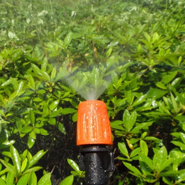 Captivating 20Pcs/Lot Adjustable Water Misting Sprinkler Nozzle Irrigation Misting  Micro Dripper With Barbed Connector Garden