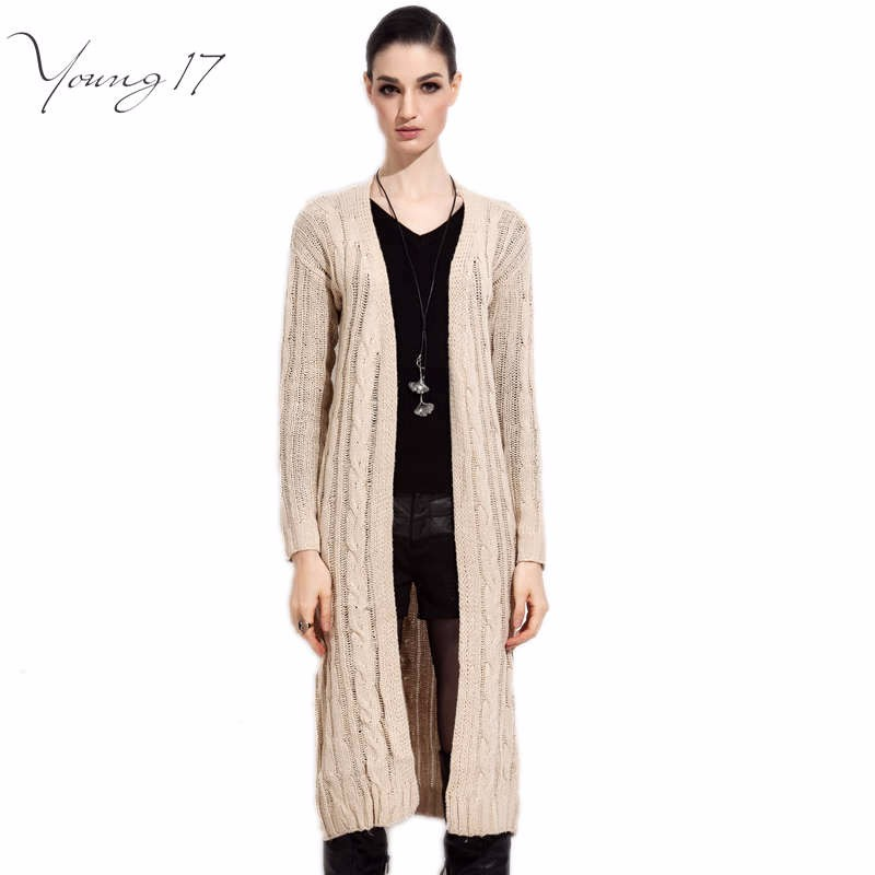 fall winter long cardigan sweater 1