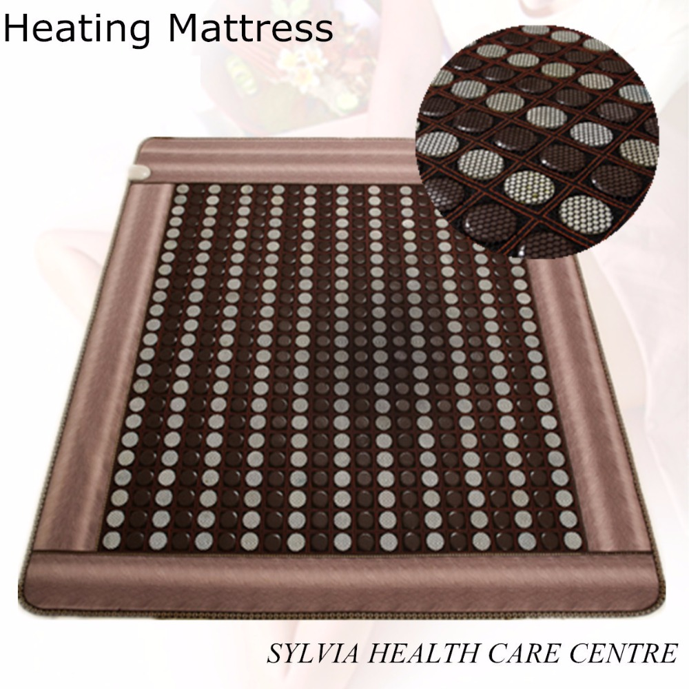 Health care product for 2017 korea heated mattress heat mat with stones jade heating jade mattresswith Free Gift eye cover health care product for 2017 korea heated mattress heat mat with stones jade heating jade mattresswith free gift eye cover