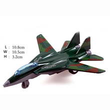 Diecast Plane Airplane Model 1 Pcs Random Pull Back Metal 1:200 Diecast Air Plane Model Toy Plane Toys For Children Boy Die Cast 1 pcs pull back gliding aircraft mini diecasts model aircraft rotate propeller toy for children random color 4 style bei jess