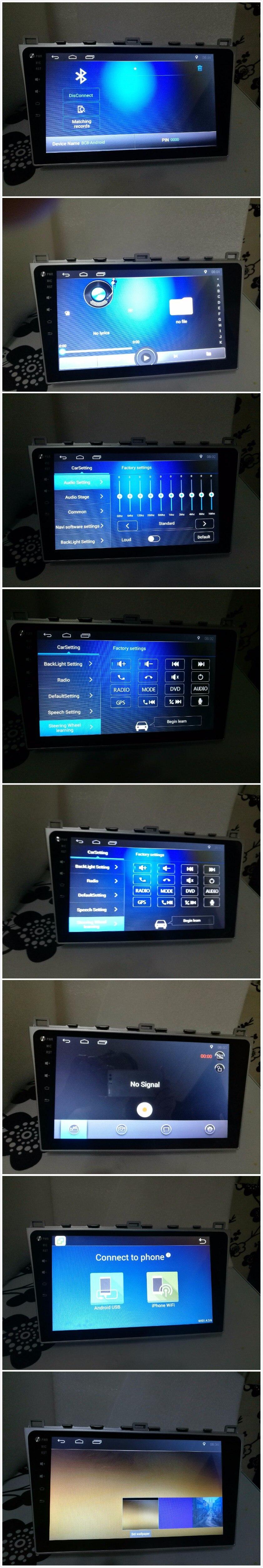 Discount 1G Ram Android 6.01 Car Audio for Mazda6 Mazda 6 2010  Headunit Stereo Vedio GPS Navi Multimedia Radio PC Monitor 4G 7