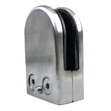 12X нержавеющая сталь, стекло зажим держателя для окна балюстрады поручня 65*43*26 мм