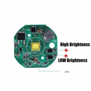 Image 2 - BOSMAA Motorcycle LED Chip XHP70 7070 15W Spotlight PCB Module Poard 6000k High Power 12V for Car ATV Motor Work Light DIY