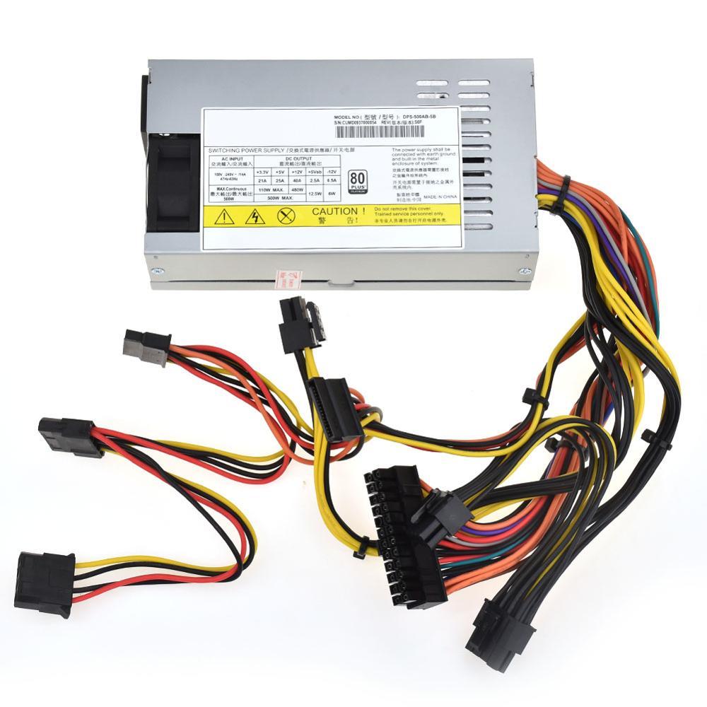 Pour Delta DPS-500AB-5B 500 W petit 1U TX FLEX HTPC alimentation pour CEMO M1 K39 150*80*40 MM