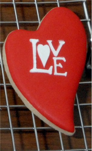 4pcs/lot Love Cookie Stencils Fondant Molds Cookie Mold Cake Stencils - Kitchen, Dining and Bar - Photo 5