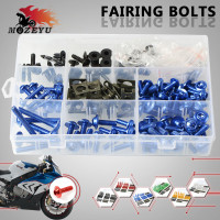 CNC Universal Motorcycle Accessories Fairing Bolt Screw Fastener Fixation For YAMAHA FZ07 FZ09 FZ MT 07 09 YZF R1 R6 MT 07 09