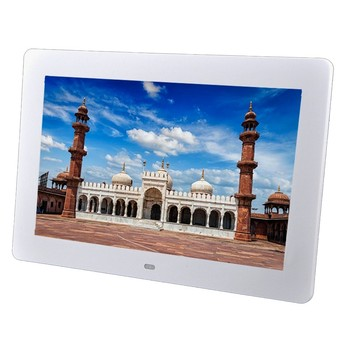 10 inç TFT Ekran LED Aydınlatmalı HD Dijital Fotoğraf Çerçevesi Elektronik Albümü Tam Fonksiyonlu Fotoğraf Müzik Video Iyi Hediye