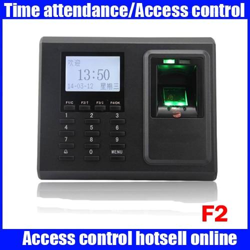 ZK F2 Fingerprint Access Control Terminal F2 With TCP/IP Free Software Fingerprint entrance guard machine