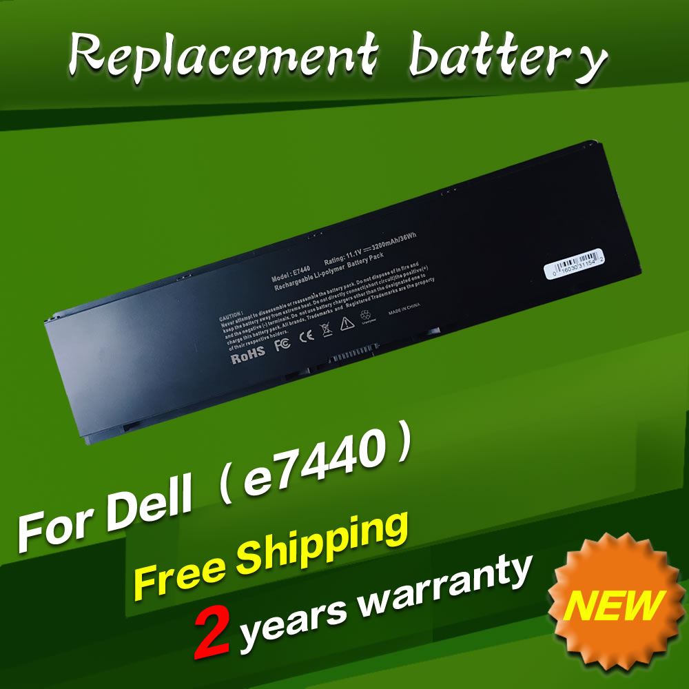 JIGU Laptop battery 0D47W 34GKR 451-BBFS 451-BBFV G0G2M PFXCR T19VW For Dell Latitude E7440 Latitude 14 7000 Series-E7440 цена