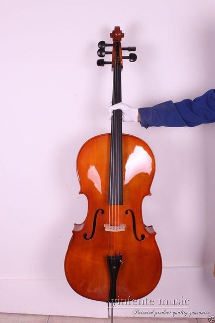 5 String 3/4 New Cello Maple & Spruce wood High quality Powerful Sound