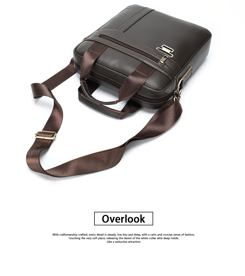 Men \' s Shoulder Bag Male Genuine Leather Crossbody Bags for Men Messenger Bag Casual Vintage Clutch Handbags bolsos 15